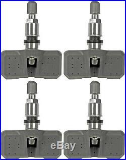 Four Tire Pressure Monitoring System (TPMS) Sensors (Dorman 974-009)