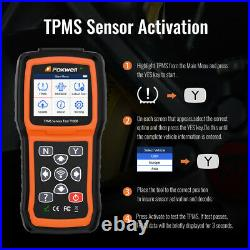 Foxwell T1000 Car TPMS Reset Tire Pressure Sensor Activate Programming Scan Tool