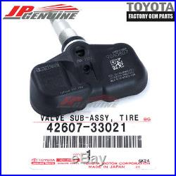 Genuine Oem Toyota Lexus Tire Pressure Monitoring Sensor Tpm 42607-33021