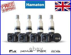 Hamaton Tpms Tyre Pressure Valve Sensors X 4 Bmw X Series / I Series