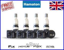 Hamaton Tpms Tyre Pressure Valve Sensors X4 Mercedes