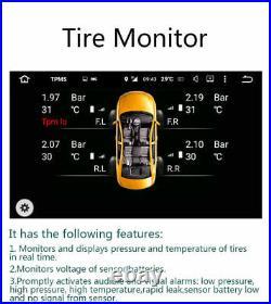 Internal TPMS 4 Sensors Wireless Diagnostic Car Tire Pressure Monitor System Kit