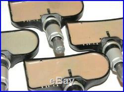 JAGUAR XJ XJR F OEM TIRE PRESSURE MONITORING SYSTEM SENSOR TPMS 315 MHz SET OF 4
