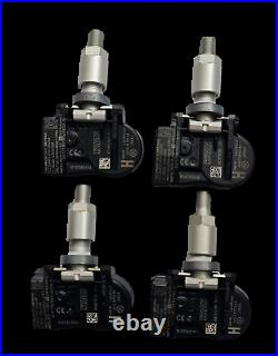 Jaguar XF TPMS Valves 4 Tyre Pressure Monitor Sensor TG1C C2D47173 GX631A189AA