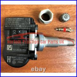 Jaguar XF TPMS Valves 433Mhz set of4 Tyre Pressure Monitor Sensor TG1C GX631A189