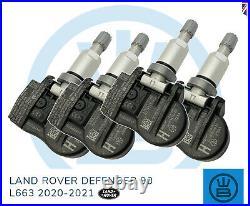 LAND ROVER DEFENDER 90 L663 TPMS tyre pressure valve sensor genuine 2020-2021