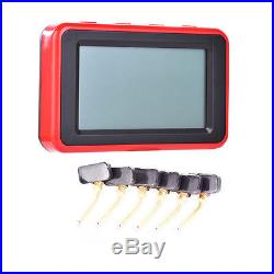LCD Car TPMS Tire Tyre Pressure Monitoring System 6 Internal Sensors For Truck