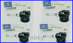 Mercedes Benz C250 C300 E350 W204 W212 Class Tire Pressure Sensor OEM 4 PCS