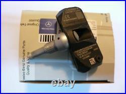 Mercedes W211 E320 E350 E550 E63 E500 AMG Tire Pressure Sensor 4 Pcs NEW OEM
