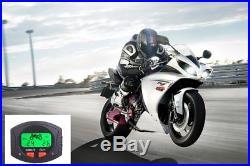Motorcycle TPMS Wirelss Motor Tire Pressure Monitor System 2 External Sensors