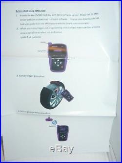NEW Max Sensor MX46 Diagnostic & Programming Tire Pressure Tool TPMS OBDII
