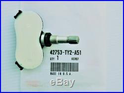New Genuine OEM Acura 42753-TY2-A51 Tire Pressure Sensor TPMS