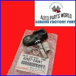 New Genuine Oem Lexus 2002-2006 Sc430 Tire Pressure Monitor Sensor Set Of 4