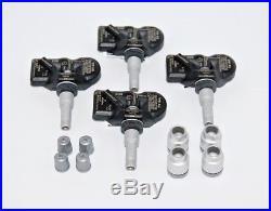 OEM AUDI VW RDKS TMPS TYRE PRESSURE 4 PCS SENSOR KIT 433Mhz 5Q0907275B