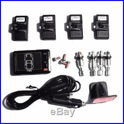 ORO W401B TPMS Universal Wireless Tire Pressure Monitoring System (with4 sensors)