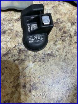 One Set 315 MHz 433 MHz Tire Pressure Monitor Sensor TPMS Autel Programmable Tir