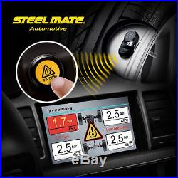 Pro Car Wireless TPMS Tire Tyre Pressure Monitoring System Built-in Sensor TP-05