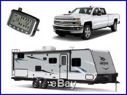 RV TPMS Tire Pressure Monitoring System 8 Sensor Motorhome 5th Wheel trailers