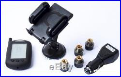 RV TPMS Tire Pressure Monitoring System Motorhome Truck + Booster 16 Sensor
