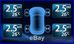 Rupse Tyredog TPMS Wireless External Tire Pressure Monitoring System 4 sensors