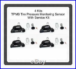 Set 4 TPMS Tire Pressure Monitoring Sensor withService Kit ForMercedes 2017- 2014