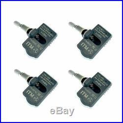 Set 4 TPMS Tire Pressure Sensors 315MHz Metal fits Cadillac Escalade 2005-2006