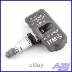 Set 4 TPMS Tire Pressure Sensors 315Mhz Metal for 06-08 Porsche 911 Non Turbo