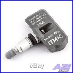 Set 4 TPMS Tire Pressure Sensors 315Mhz Metal for 07-13 Suzuki Grand Vitara
