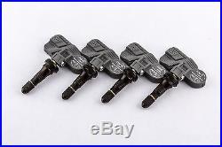 Set 4 TPMS Tire Pressure Sensors 315Mhz Rubber for 06-09 Chevy Trailblazer