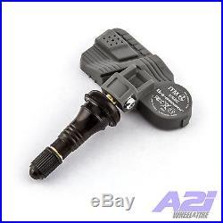 Set 4 TPMS Tire Pressure Sensors 315Mhz Rubber for 07-14 Cadillac Escalade