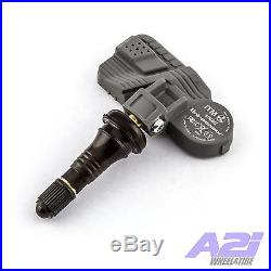 Set 4 TPMS Tire Pressure Sensors 315Mhz Rubber for 12-15 Honda Civic