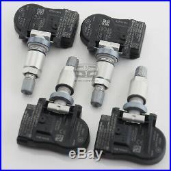 Set Of 4 Genuine Range Rover Sport Tpms Tyre Pressure Sensor Alloy Wheel Valves