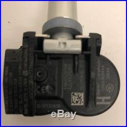Set Of 4 Range Rover Evoque Tyre Pressure Sensor Tpms Valve Gx63-1a159-aa