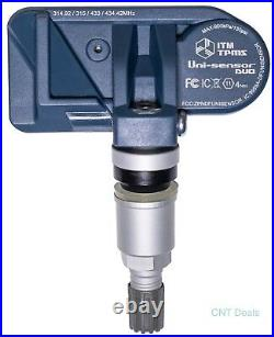 Set of 4 2005-2019 TPMS Tire Pressure Sensors Toyota Tacoma (Fits all Toyota)