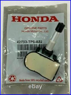 Set of 4 Genuine Honda OEM TPMS Tire Pressure Sensor Kit 42753-TP6-A82 New