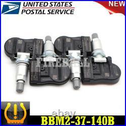 Set of 4 Mazda TIRE PRESSURE SENSOR MONITOR TPMS OEM BBM2-37-140B SET-TS17