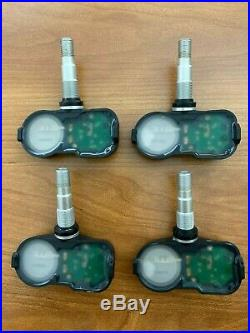 Set of 4 OEM Genuine Toyota TPMS Tire Pressure Sensor MPN 42607-06030 (PMV-C015)