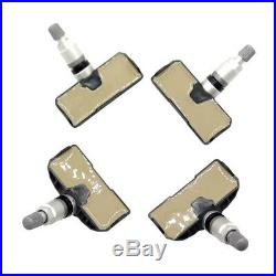 Set of 4 Tire Pressure Sensor for BMW 328i 335i 528i 550i 750i 760Li M5 X3 X5 Z4