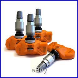 Set of 4 Tire Pressure Sensors TPMS for 2014-2018 Maserati Ghibli