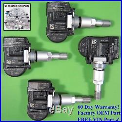 Set of 4 Volvo TIRE PRESSURE SENSOR TPMS OEM 8G92-1A159-AE 433 MHz SET-TS64