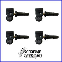 Set of 4 x Ford Ranger T6 2016 2019 XO TPMS Tyre Pressure Valve Sensors