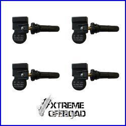 Set of 4 x Peugeot TPMS Tyre Pressure Valve Sensors For All Peugeot Vehicles