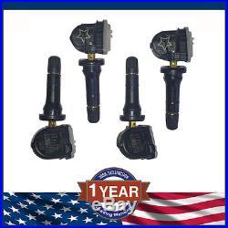 Set of 4pcs NEW ACDelco 13598771 GM Original Equipment Tire Pressure Sensor TPMS