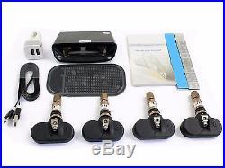 Solar Power TPMS Tire Pressure Monitor System+4 Internal Sensor Auto Car