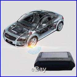 Solar Wireless Car Truck TPMS Tire Pressure LCD Monitor System 4 Internal Sensor