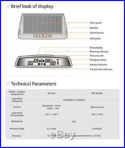 Steelmate Car Auto TPMS Tire Pressure Monitoring System 4 Sensor Wireless DIY