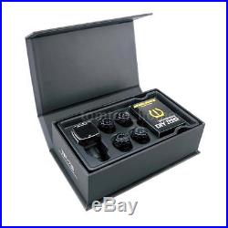 Steelmate Car TPMS Tire Pressure Monitoring With Wireless 4 Valve-cap Sensors C3F4
