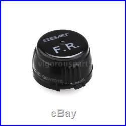 Steelmate ET-710AE 4-Sensor LCD Wireless TPMS Tire Pressure Monitor System J9P6