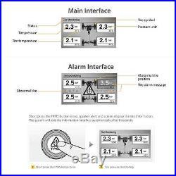 Steelmate TP-05E DIY TPMS Car Tire Pressure Monitor System 4 Sensor A/V monitors