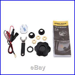 Steelmate TP-90 TPMS Tire Pressure Monitoring System 2 Sensors for Motorcycle